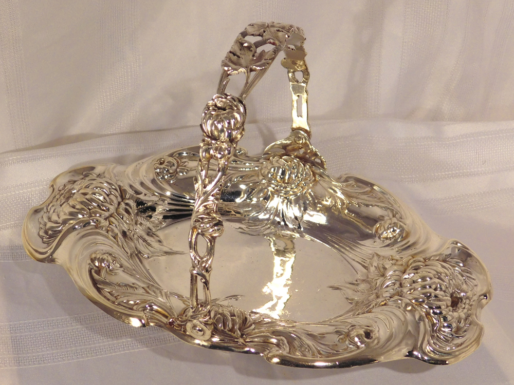 Silver Plated Bread Basket-2