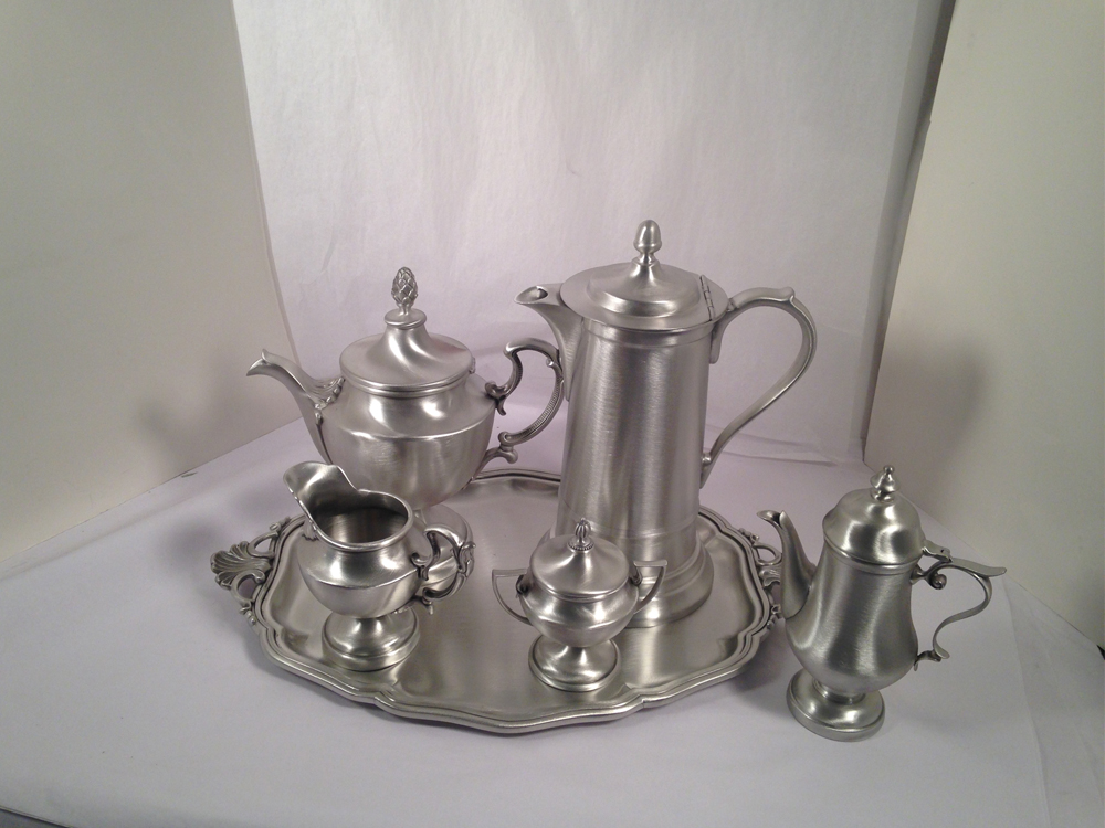 Pewter Tea Set-2